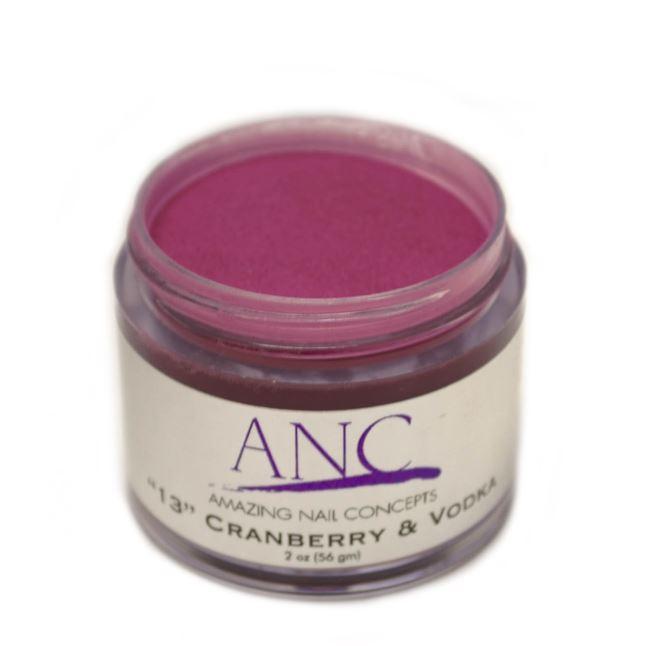 ANC Dip Powder Amazing Nail Concepts 2 Oz #13 Cranberry