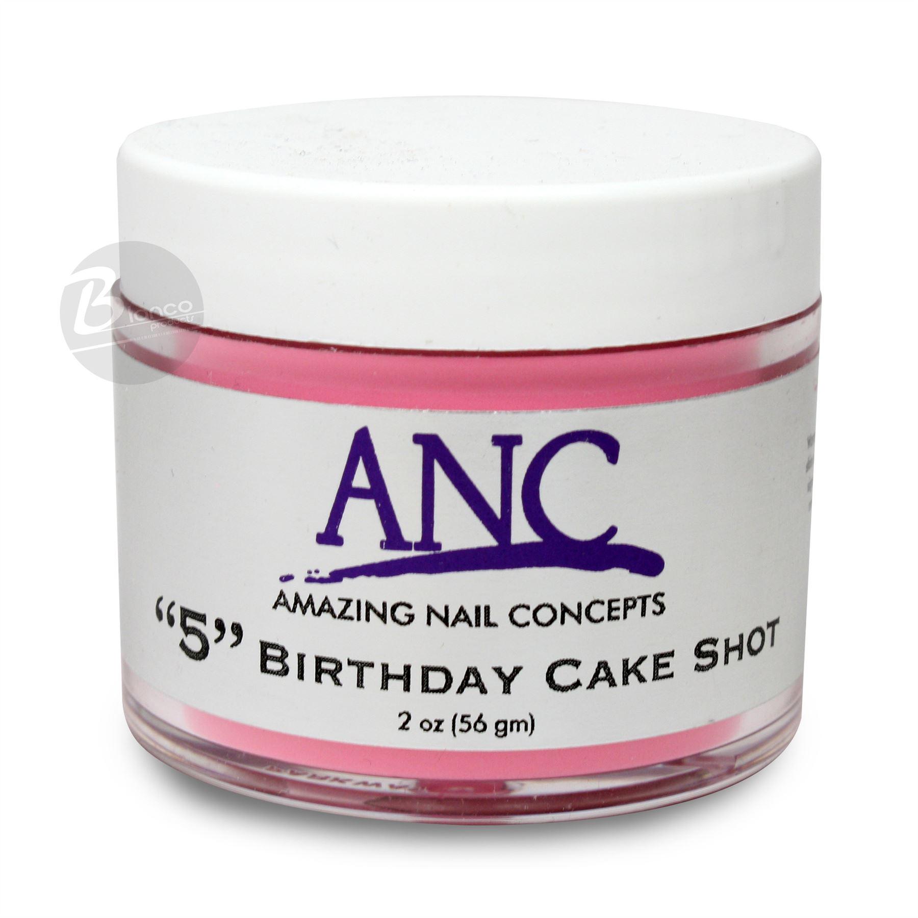 """ANC DIP Powder System """"Birthday Cake Shot"""" #5 2oz"""