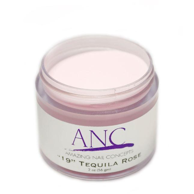 ANC Dip Powder Amazing Nail Concepts 2 Oz #19 Tequila Rose