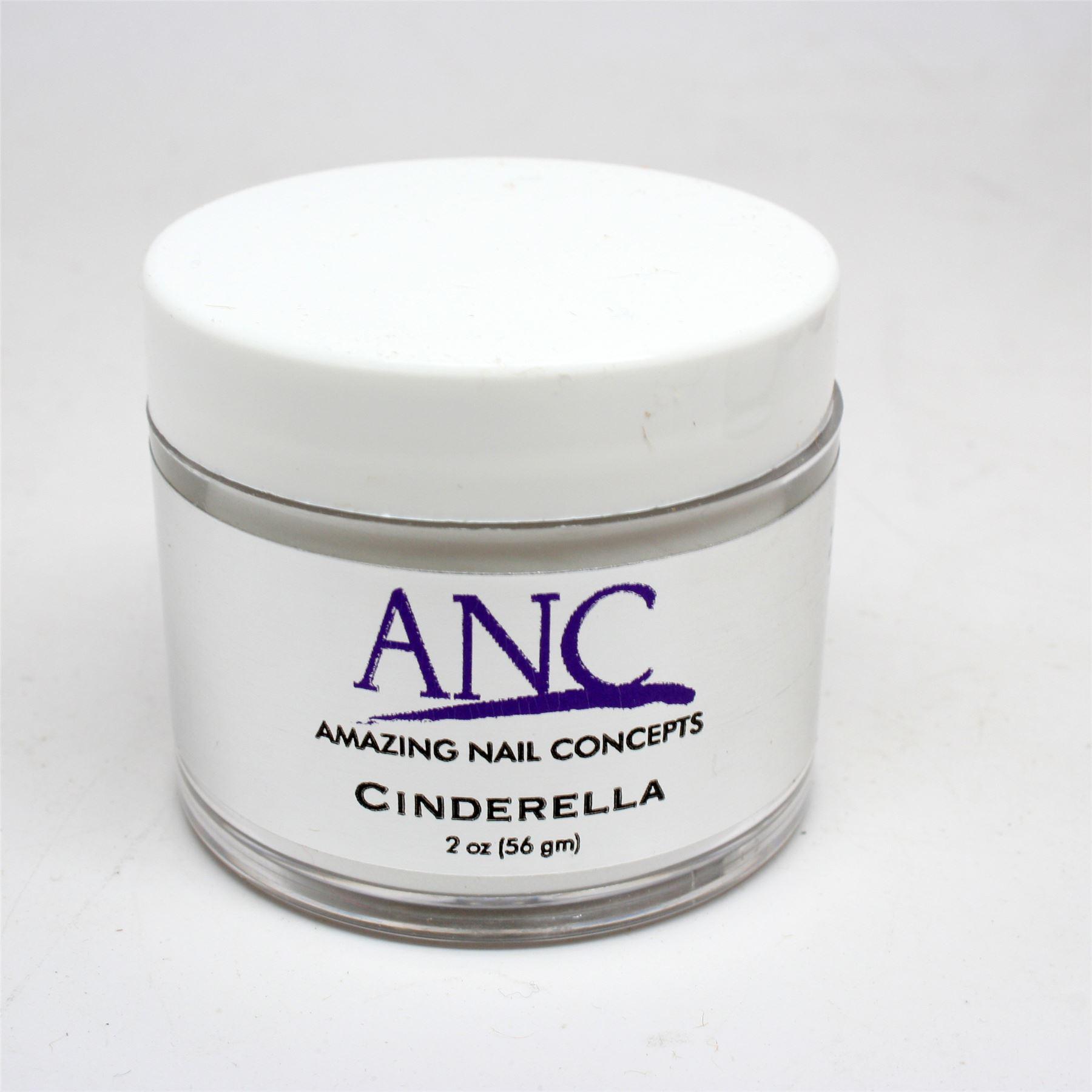 ANC Dip Powder Amazing Nail Concepts 2 Oz Cinderella