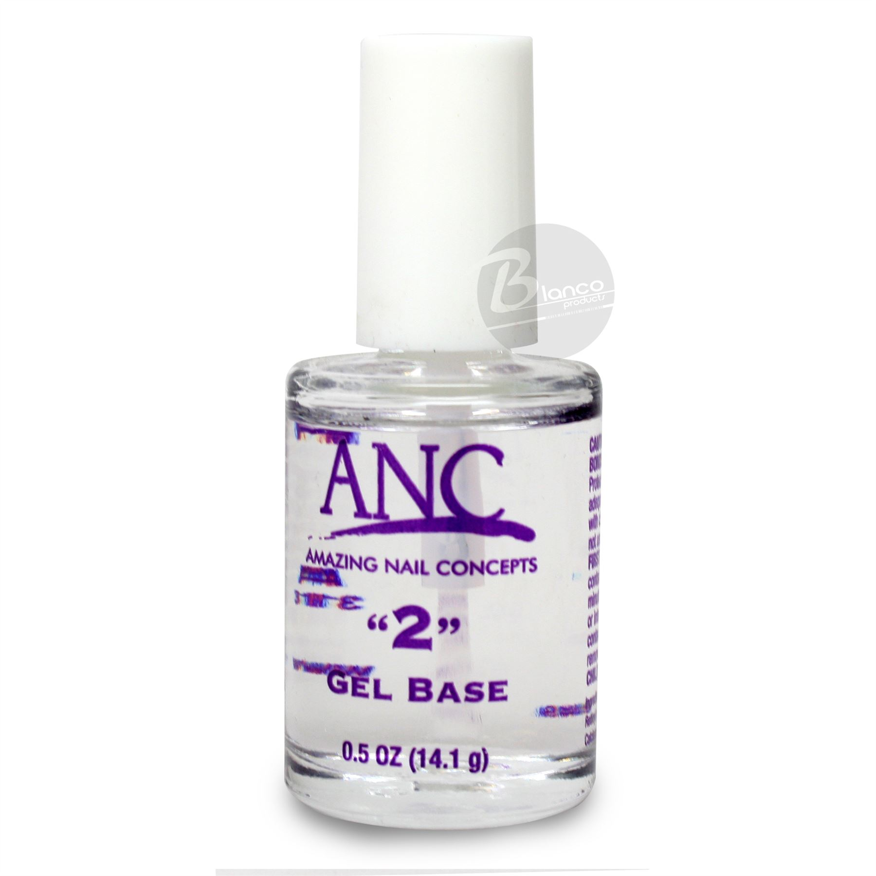 """Amazing Nail Concepts Gel Base DIP System Step """"2"""" 0.5oz"""