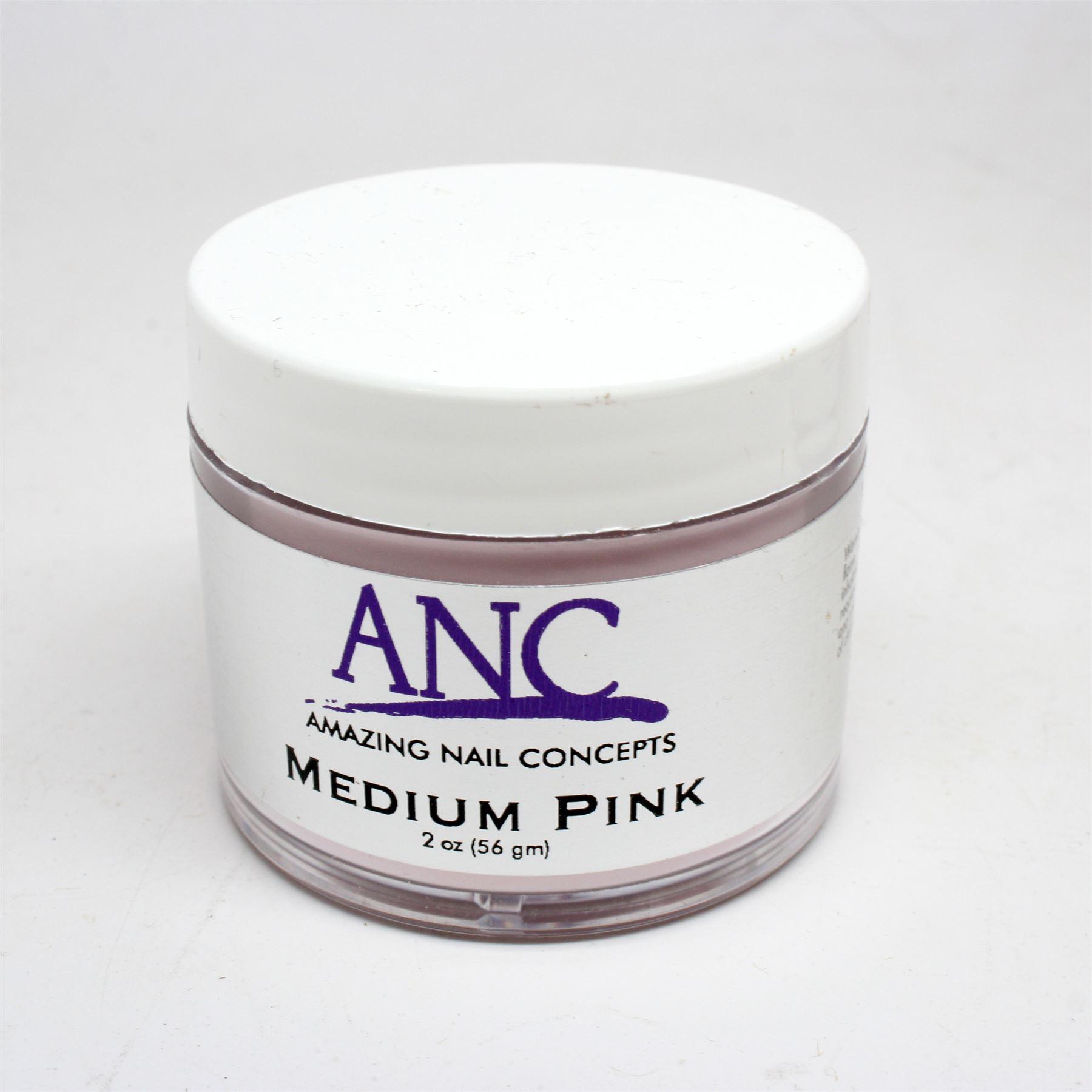 ANC Dip Powder Amazing Nail Concepts Medium Pink MP02 2 Oz