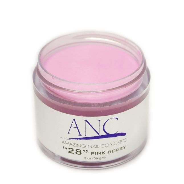 ANC Dip Powder Amazing Nail Concepts 2 Oz #28 Pink Berry