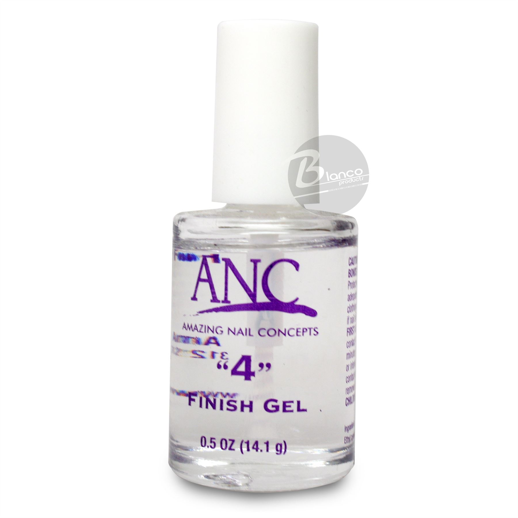 "Nail Dipping System: Amazing Nail Concepts Finish Gel DIP Powder System Step ""4"