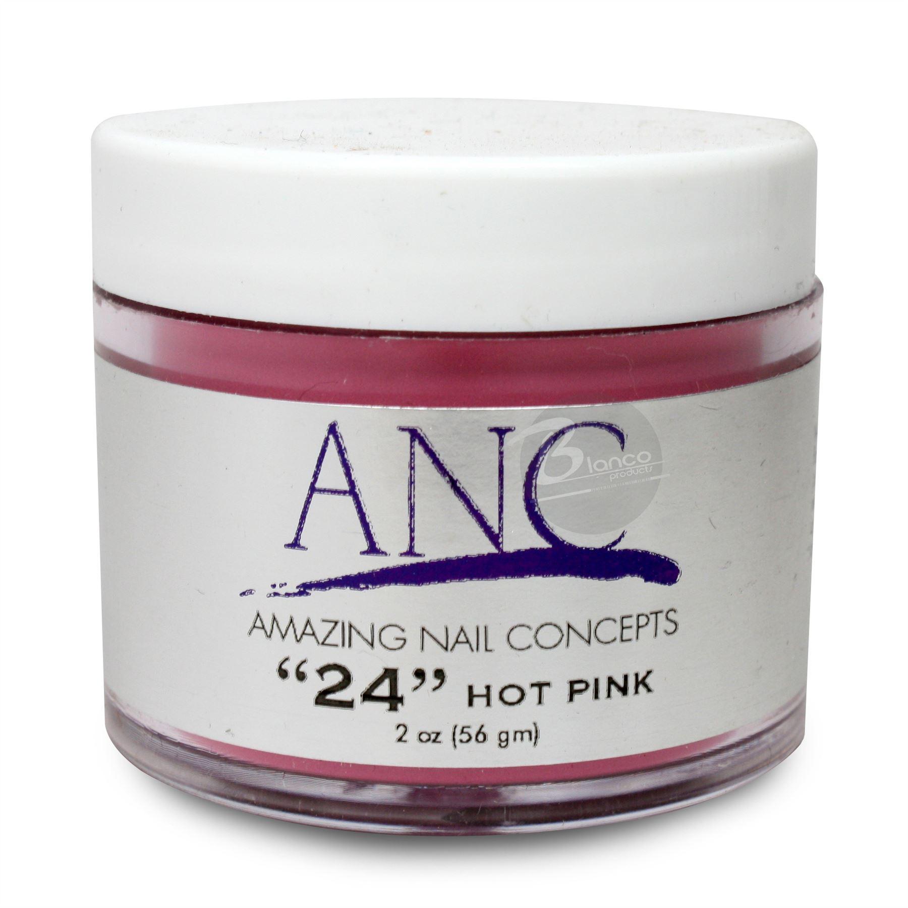 "Amazing Nail Concepts DIP Powder System ""Hot Pink"" #24 2oz"
